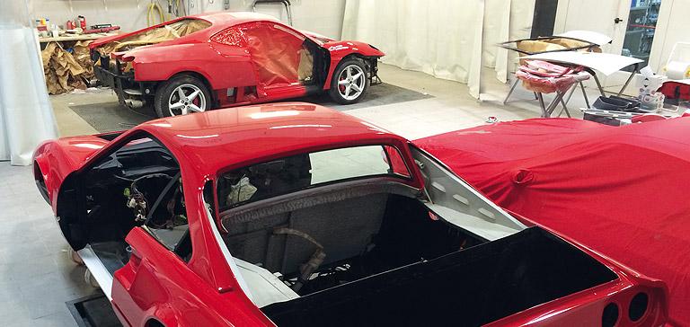 red parts carrosserie sp cialiste ferrari et maserati proche paris. Black Bedroom Furniture Sets. Home Design Ideas